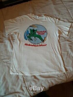 Vintage Grateful Dead 78 Shakedown Street Invisible Pimp Ice Cream Kid