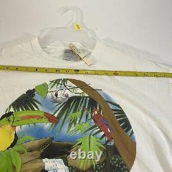 Vintage Grateful Dead Animals Rainforest Spring Tour 1993 Concert T Shirt