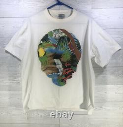 Vintage Grateful Dead Animals Rainforest Spring Tour 1993 Concert T Shirt XL