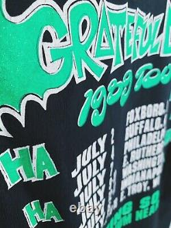 Vintage Grateful Dead Batman shirt 80s 1989 deadstock Garcia Weir Lesh