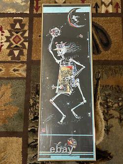 Vintage Grateful Dead Carl Newman Original Rock Concert Poster Sf Rare
