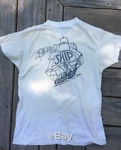 Vintage Grateful Dead Concert T Shirt 1979 Original Ship Of Fools