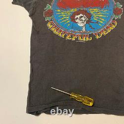 Vintage Grateful Dead Happy New Year 1980 Concert T Shirt Single Stitch M