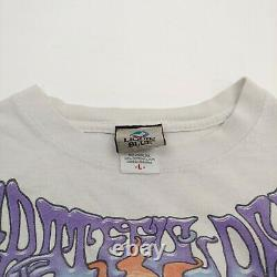 Vintage Grateful Dead Lighthouse Liquid Blue T Shirt 2000 Y2K Original Large L