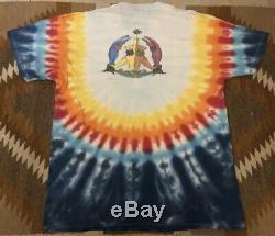 Vintage Grateful Dead Original 90s 1998 Band Tour T-Shirt Tee