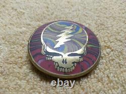Vintage Grateful Dead Steal Your Face Skull GDM Belt Buckle Original RARE