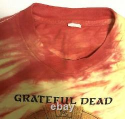 Vintage Grateful Dead T-Shirt 1987 Blues for Allah Tie-Dye Band Tee Size L
