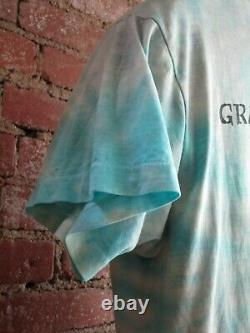 Vintage Grateful Dead T-Shirt (L) 1987 Blues for Allah Tie-Dye Band Tee 2 sided