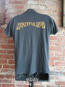 Vintage Grateful Dead T-Shirt (XL) 1981 Reckoning San Francisco Band Tee 2 sided