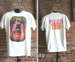Vintage Grateful Dead T-Shirt (XL) 1988 Madison Square Garden King Kong Band Tee