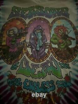 Vintage Grateful Dead Tie Dye T-Shirt Top 1993 Charles Everard Campbell XL