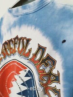 Vintage Grateful Dead shirt 1995 Summer Tour Jerry Garcia Bob Weir Phil Lesh