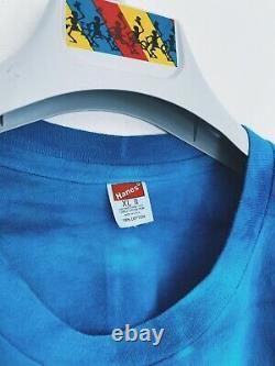 Vintage Grateful Dead shirt 80's LOT TEE Batik Dancing Bear RARE single stitch