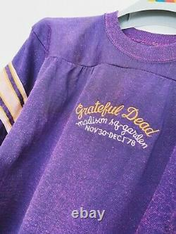 Vintage Grateful Dead shirt/jersey 1978 Madison Square Garden Mickey Hart RARE