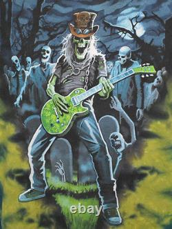 Vintage IRON MAIDEN Tie Dye Shirt Grateful Dead Rock Band M Medium