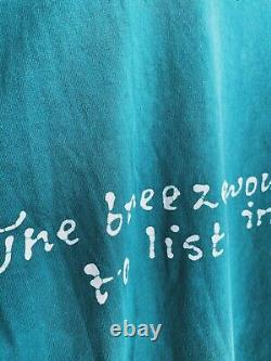 Vintage Jerry Garcia shirt 80's Batik LOT TEE Grateful Dead single stitch
