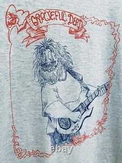Vintage Jerry Garcia shirt 90's LOT TEE deadstock Grateful Dead RARE
