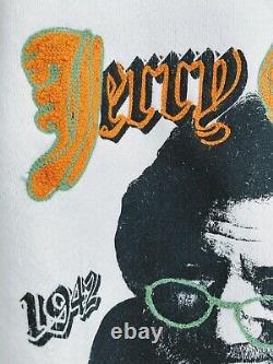 Vintage Jerry Garcia sweatshirt 1995 Grateful Dead ONE OF A KIND chainstitch