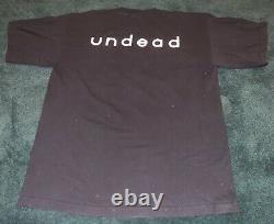 Vintage Licensed Bauhaus Undead Concert Tour Bela Lugosi's Dead t-shirt 1998 L