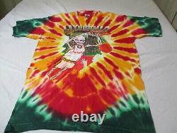 Vintage Original 1992 Lithuania Basketball Tie Dye Grateful Dead T Shirt L USA