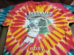 Vintage Original 1992 Lithuania Basketball Tie Tye Dye Grateful Dead T Shirt XL