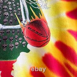 Vintage Original 1992 Lithuania Basketball Tie Tye Dye Grateful Dead Tee