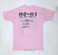 Vintage Original Dead or Alive Nude Japan tour shirt 1989 L Rare