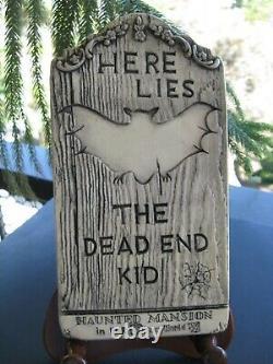 Vintage Original Randotti The Dead End Kid Haunted Mansion Tombstone