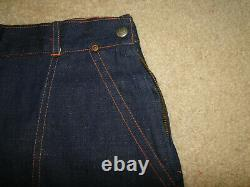 Vintage Pay master 50s Denim Jeans Made in usa Dead Stock Sz W 34x33 womens