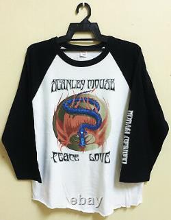 Vintage Stanley Mouse Psychedelic Art Jersey Shirt Grateful Dead Hippie Poster