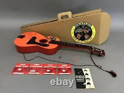 Vintage The Beatles Selcol New Beat Guitar Original Box Complete Exc Condition