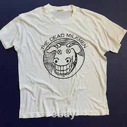 Vintage The Dead Milkmen / Screen Stars T Single Stitch Sz XL