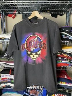 Vintage grateful dead giants shirt 90s 1997 mlb baseball band tee
