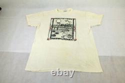 Vtg 1987 Grateful Dead T-Shirt Jack Rajca Morning Sun Graphics Telluride Large