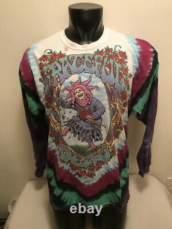 Vtg 1993 Grateful Dead Seasons The Endless Tour Long Sleeve Shirt Mens XL
