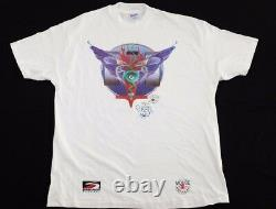 Vtg 1994 Stanley Mouse Art T-Shirt XL hand signed grateful dead american rock