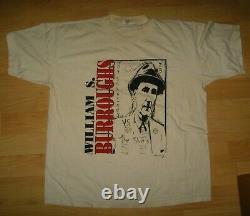 William S. Burroughs Tee Vintage 1995 Beat Generation Author T Shirt XLarge