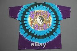 XL/XXL vtg 90s GRATEFUL DEAD tie dye OAKLAND CA 1991 t shirt 37.111