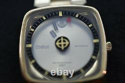 Zodiac Astrographic SST Hi Beat Auto 88D Mystery Dial Gold Vintage Original